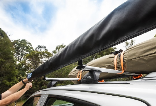 Track Mounted Ute Roof Bars