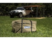 Kings Campfire BBQ Bag   Heavy-Duty Canvas   Protect Your BBQ