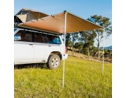Kings 2.5x2.5m Awning w/LED Light | Suits All Vehicles | UPF50+ | Inc. Mounting Kit