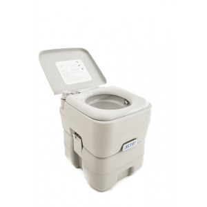20L Portable Camping Toilet | Flushable | Double-Sealed | Hygenic | Portable