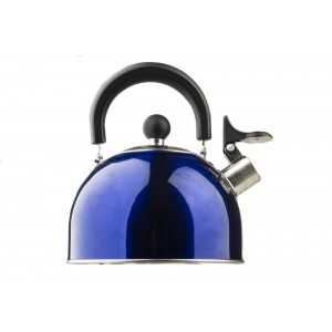 Kings Camping Kettle | Whistling Design | 2 Litres | Stainless Steel