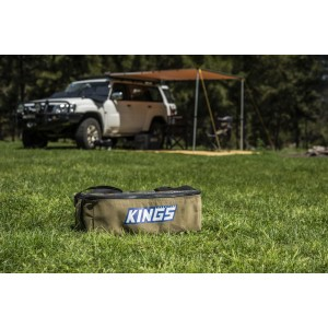 Adventure Kings Clear Top Canvas Bag | Storage | Organisation | Heavy-duty | Fits Titan Drawers