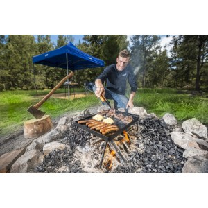 Adventure Kings Essential BBQ Plate | Grill & Hot Plate | Folds Flat
