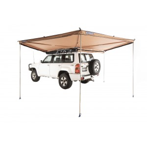 270° King Wing Awning| Integrated Pole System | 11sqm Sheltered Area | 1min Setup | Ultra-High Quality | Adventure Kings