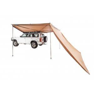 270° King Wing Awning Wall| Suits all sides of 270° King Wing | Waterproof | UPF50+ Sun Protection | Velcro attachment | Adventure Kings