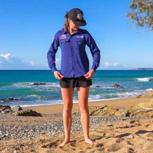 NZ Ladies Outdoor/Fishing Shirt | Lightweight & Breathable | Sizes XS–3XL