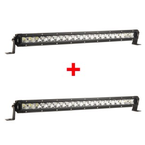 "2x Kings 20"" Slim Line LED Light Bar"