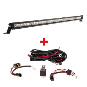 "Kings 40"" Slim Line LED Light Bar + Wiring Harness"