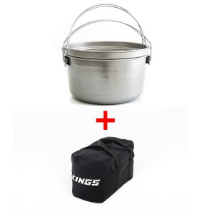 Large Aussie Camp Oven + Adventure Kings 40L Duffle Bag