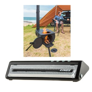 Adventure Kings Camp Oven/Stove + Adventure Kings Vacuum Sealer