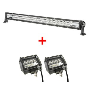 "Adventure Kings Domin8r 42"" LED Light Bar + 4"" LED Light Bar"