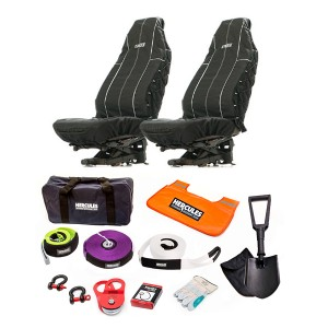 Hercules Complete Recovery Kit + Adventure Kings Heavy Duty Seat Covers