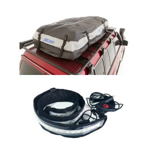 Adventure Kings Premium Roof Top Bag + Illuminator MAX LED Strip Light