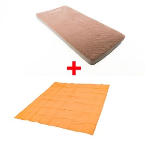 Adventure Kings Self-Inflating Foam Mattress - Single + Mesh Flooring 3m x 3m